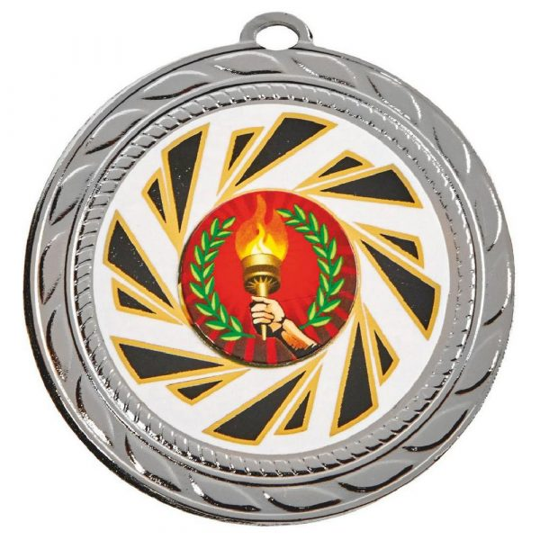 Large Curling Medal 70mm