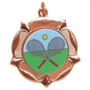 his popular Tennis Medal is available in gold, silver and bronze colours
