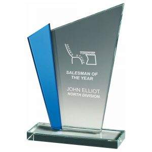 Special Achievement Trophy 18cms. Ideal for any special business or corporate presentation,