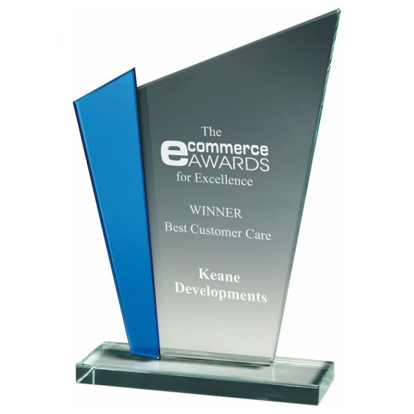 Special Achievement Trophy 22cms. Ideal for any special business or corporate presentation,
