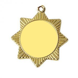 BLANK 40mm Star Medal
