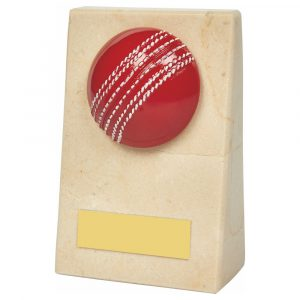 Marble Cricket Trophy 11cms