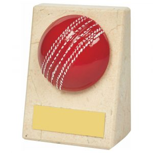 Marble Cricket Trophy 8cms