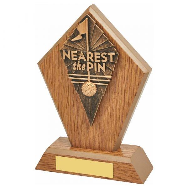 Nearest Pin Trophy 17.5cms