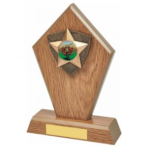 Clay Shooting Wood Trophy