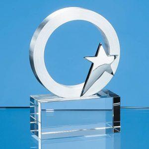 Star Circle Trophy 7cms
