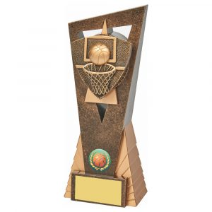 Basketball Scene Trophy 21cms