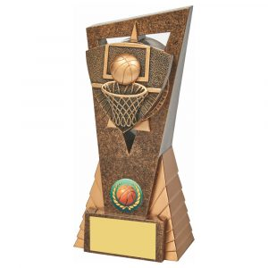 Basketball Scene Trophy 18cms