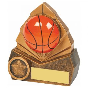 Basketball 3D Trophy 10cms