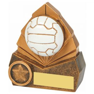 Netball Trophy 3D 10cms