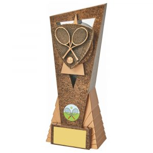 Tennis Scene Trophy 21cms