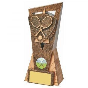 Tennis Scene Trophy 18cms