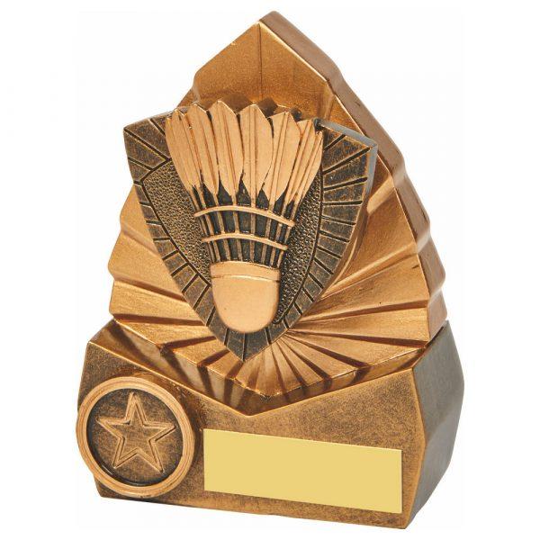 Badminton Trophy 3D 12cms