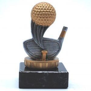 Golf Trophy 10cms
