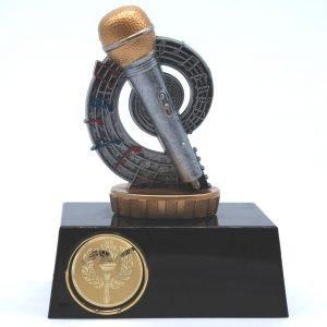 Karaoke Trophy 10cms