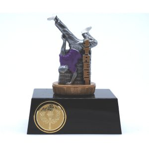 Street Dancing Trophy 11cms