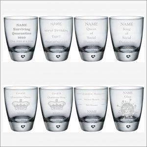 Souvenir Coronavirus Tumbler Glass