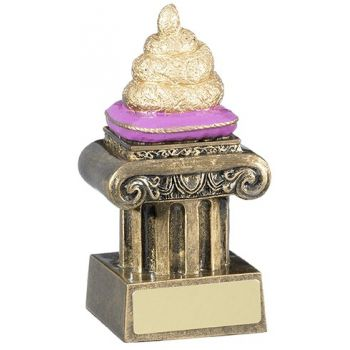 Poo Trophy 12cms