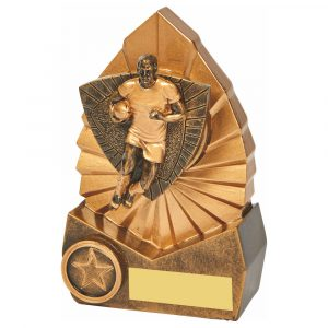 Rugby Trophy 14cms Tall