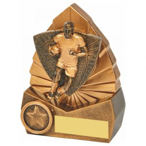 Rugby Trophy 12cms Tall