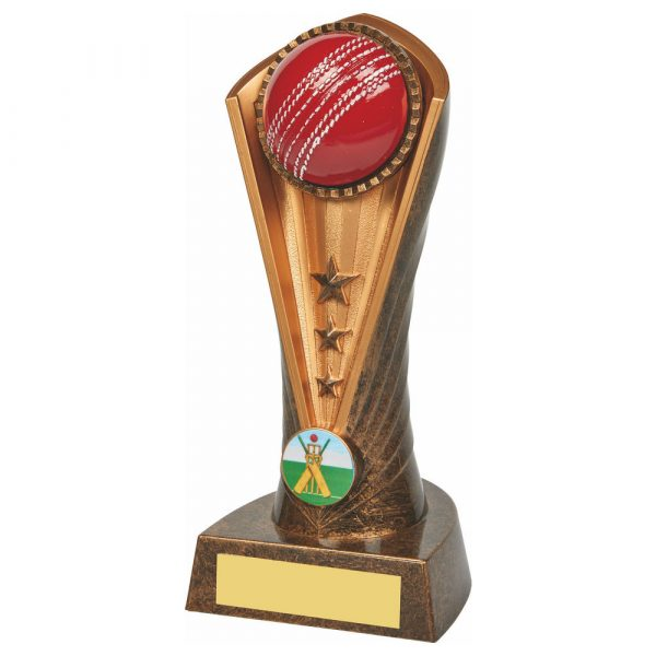 Cricket Column Trophy 19cms