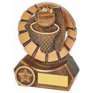 Netball Trophy 12cms