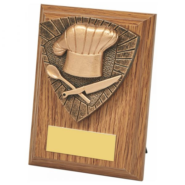 Cooking Wood Plaque Trophy