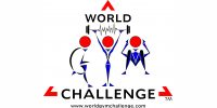 world gym challenge logo working with online trophies