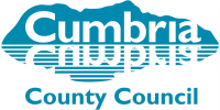 cumbria county council logo working with online trophies